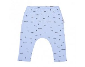 SEVIRA KIDS Pantalon Legging Bébé en Coton Biologique - Enjoy