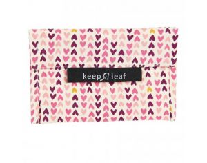 KEEP LEAF Pochette Lavable - Médium