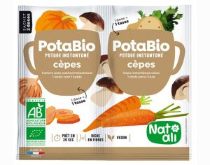 NAT-ALI PotaBio Potage Cèpes - 2 x 8.5 g