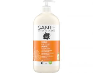 SANTE Shampooing Brillance Family Coco et Orange Bio