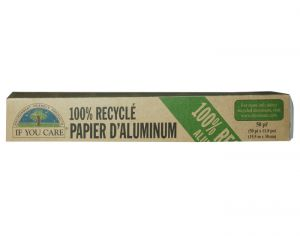 IF YOU CARE Papier Aluminium 100% Recyclé