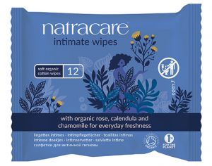 NATRACARE Lingettes Intimes Femme
