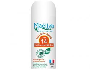 MAELLYA Lot de 3 Rolls-on Massants Massages - 75 ml