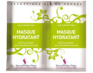 SECRETS DES FEES Masque Hydratant Repulpant - 2x4g