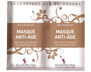 SECRETS DES FEES Masque Anti-Age Restructurant - 2x4g