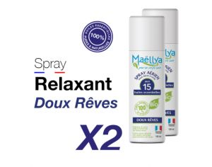 MAELLYA Lot de 2 Sprays