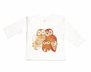 BABYBIRD T-Shirt Manches-Longues, Famille Chouette