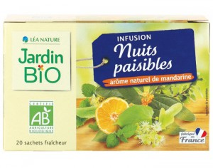 JARDIN BIO Infusion Nuits Paisibles