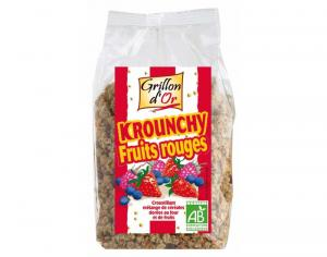 GRILLON D'OR Krounchy Fruits Rouges - 500 g