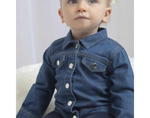 MADE IN BIO Veste denim Bébé - Tamarindo