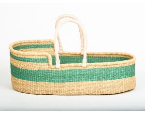 THE BASKET ROOM Couffin Turquoise Equitable Avec Matelas - Bruu