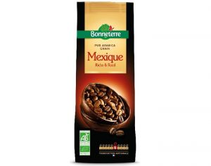 BONNETERRE Café Grains Mexique Pur Arabica Riche et Rond - 250 g