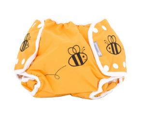 PIWAPEE Culotte de Protection Shorty - Abeilles Small-Medium : 5 - 11 kg