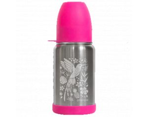 GASPAJOE Gourde En Inox Collection Sippy Colibri - 350 ml