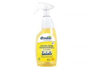 ECODOO Savon Noir Traditionnel en Spray - 750 ml