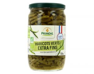PRIMEAL Haricots Verts Extra Fins - 720 ml