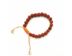 THE GOOD KARMA SHOP Bracelet Mala - Rudraksha