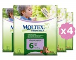 MOLTEX Pack Eco - Couches Jetables Nature 1