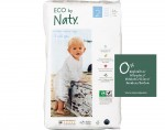 NATY Couches Jetables Eco (2 Mini 3-6Kg - Paquet de 34)