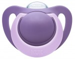 NUK Sucette Physiologique en Silicone - Orange