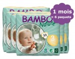 BAMBO NATURE Pack 1 mois de Couches Jetables Eco