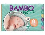 BAMBO NATURE Maxi Pack Ultra Eco x8 - Couches Jetables �cologiques