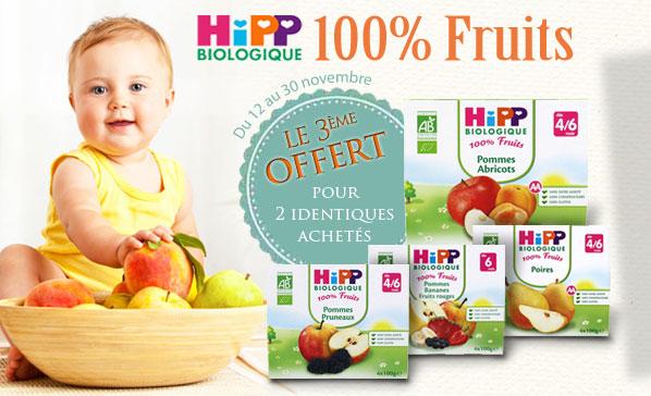 HIPP Offre Fruits