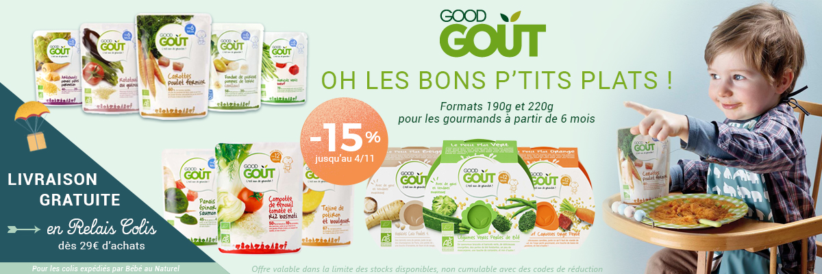 GOOD GOUT Plats et assiettes -15%