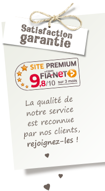 Fia-net 9.8/10 Satisfaction Clients Garantie