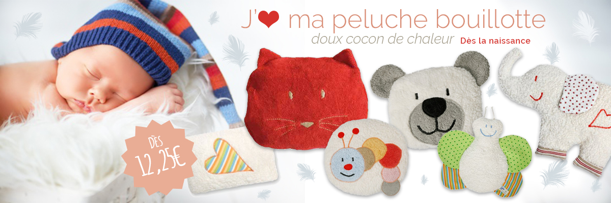 Peluches Bouillottes